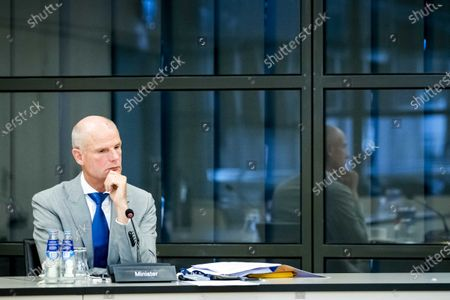 Dutch Minister Stef Blok (Foreign Affairs)  during a meeting in the House of Representatives in The Hague, The Netherlands, 14 September 2020. Among other things, there is talk of the unrest in Belarus, which arose after the re-election of President Lukashenko.