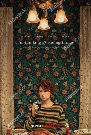 I'm Thinking of Ending Things (2020) Poster Art. Jessie Buckley as Young Woman