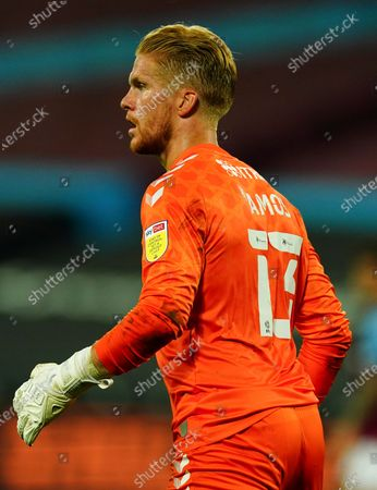 Charlton Athletic goalkeeper Ben Amos