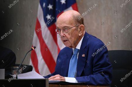 Editorial image of US QATAR, Washington, United States - 14 Sep 2020