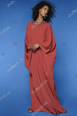 Editorial photo of Reem Acra, New York, USA - 14 Sep 2020
