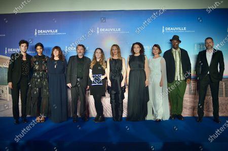 Zita Hanrot, Vincent Lacoste, Delphine Horvilleur, Mounia Meddour, Vanessa Paradis, Bruno Podalydes, Oxmo Puccino and Yann Gonzalez