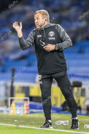 Billy Reid, Assistant Head Coach of Brighton & Hove Albion FC Brighton and Hove Albion and Chelsea at the American Express Community Stadium, Brighton and Hove