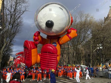Editorial picture of Macy's Thanksgiving Parade, New York, United States - 28 Nov 2019