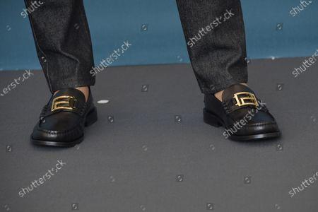 Diego Boneta, Shoe detail