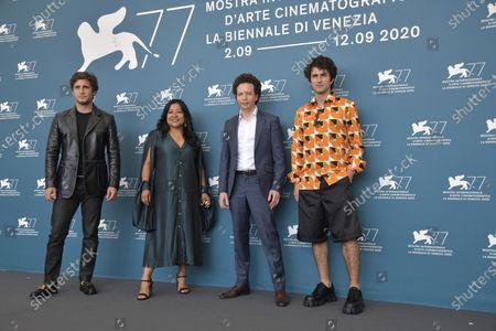 Diego Boneta, Monica del Carmen, Michel Franco and Dario Yazbek Bernal