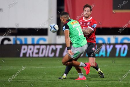 Editorial picture of Gloucester Rugby v Harlequins, Gallagher Premiership Rugby - 14 Sep 2020