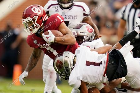 Editorial picture of Missouri St Oklahoma Football, Norman, United States - 12 Sep 2020