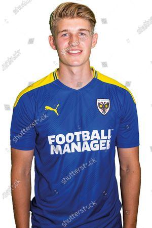 AFC Wimbledon defender Jack Madelin (15) profile picture for AFC Wimbledon at Plough Lane, London
