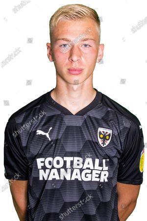 AFC Wimbledon goalkeeper Matt (Matthew) Cox (21) profile picture for AFC Wimbledon at Plough Lane, London