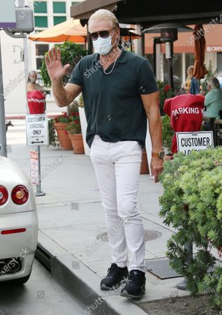 Editorial picture of Dolph Lundgren out and about, Los Angeles, USA - 14 Sep 2020