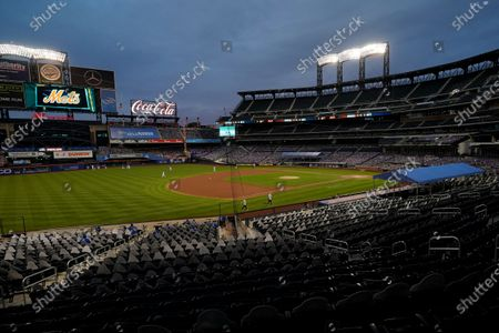 Citi Field is viewed at dusk before a baseball game between the New York Mets and the Baltimore Orioles in New York. Billionaire hedge fund manager Steve Cohen has agreed to purchase the Mets from the Wilpon family. The team announced the agreement on . The deal is subject to the approval of Major League Baseball owners