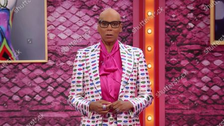 RuPaul presents the award for Outstanding Hosted Nonfiction Series Or Special during the first night of the 2020 Creative Arts Emmy Awards, streamed live on Emmys.com on