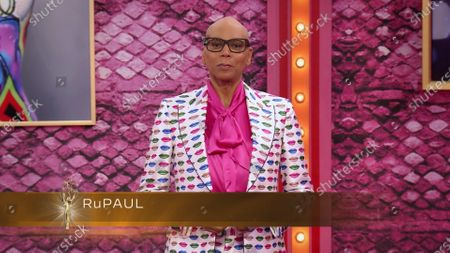 RuPaul presents the award for Outstanding Documentary Or Nonfiction Special during the first night of the 2020 Creative Arts Emmy Awards, streamed live on Emmys.com on