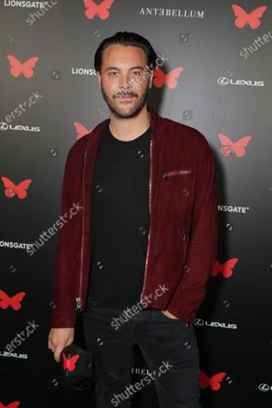 Stock Image of Jack Huston appears at the Antebellum Rooftop Cinematic Experience at The Grove on September 14, 2020