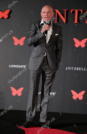 Joe Drake - Lionsgate Motion Picture Group Chairman appears at the Antebellum Rooftop Cinematic Experience at The Grove on September 14, 2020