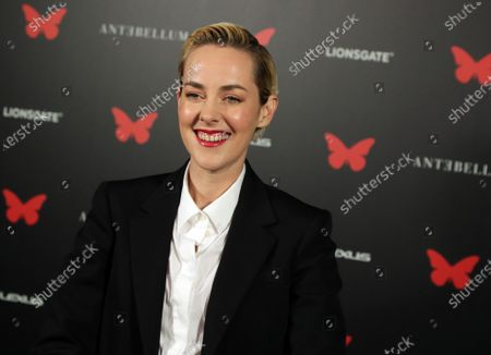 Jena Malone appears at the Antebellum Rooftop Cinematic Experience at The Grove on September 14, 2020