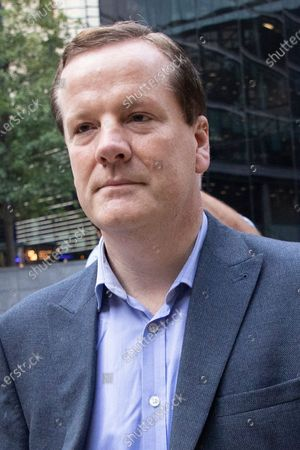 Former MP Charlie Elphicke arrives at Southwark Crown Court to be sentenced after he was found guilty of three counts of sexual assault against two women .