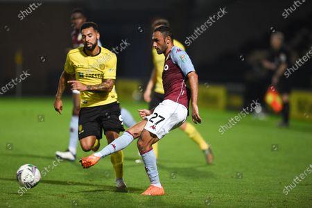 Ahmed Elmohamady of Aston Villa.