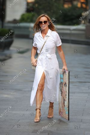Editorial photo of Amanda Holden out and about, London, UK - 15 Sep 2020