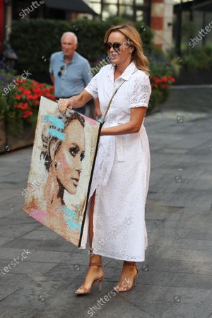 Editorial image of Amanda Holden out and about, London, UK - 15 Sep 2020