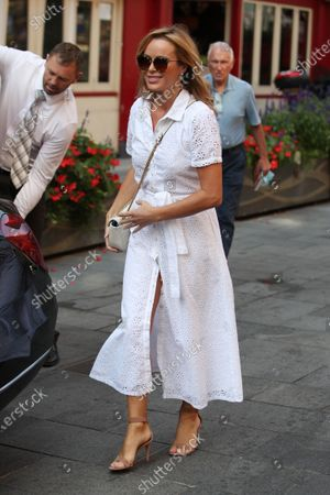Editorial picture of Amanda Holden out and about, London, UK - 15 Sep 2020