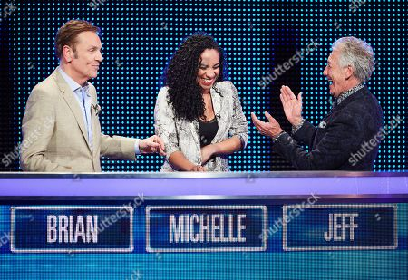 (L-R) Brian Conley, Michelle Ackerley and Jeff Banks