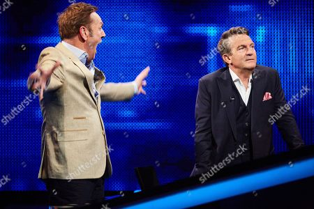Brian Conley and Bradley Walsh