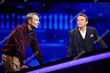 Stock Picture of Andy Crane and Bradley Walsh