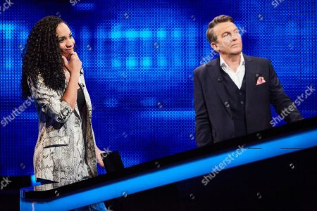 Michelle Ackerley and Bradley Walsh