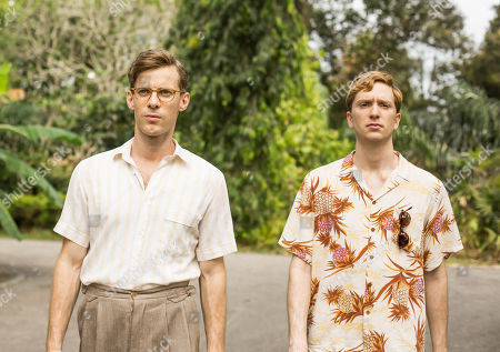 Luke Treadaway as Matthew Webb And Luke Newberry as Monty.