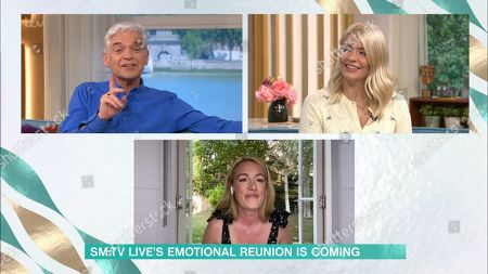 Phillip Schofield, Holly Willoughby, Cat Deeley