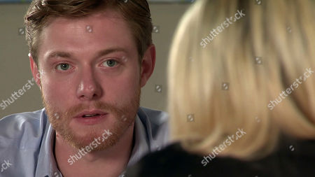 Stock Picture of Coronation Street - Ep 10121 Monday 21st September 2020 - 1st Ep Thanking Daniel Osbourne, as played by Rob Mallard, for helping her to dream again, Nicky, as played by Kimberley Hart Davies, leans in closer will Daniel be able to resist?
