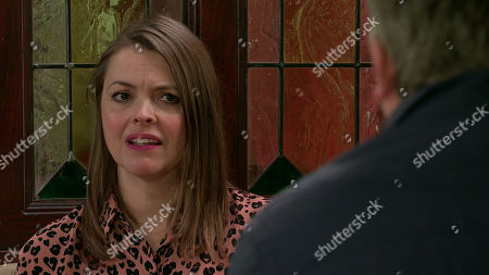 Coronation Street - Ep 10122 Monday 21st September 2020 - 2nd Ep Tracy McDonald, as played by Kate Ford, is worried when Steve McDonald, as played by Simon Gregson, suggests that if Nick is selling his shares in Underworld he and Tracy should sell Streetcars and the florist to find Oliver's treatment.