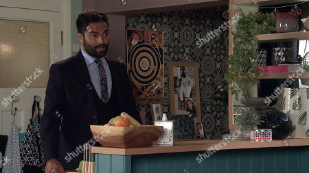 Coronation Street - Ep 10131 & 10132 Friday 2nd October 2020  Toyah Battersby and Imran Habeeb, as played by Charlie de Melo, decide to postpone their meeting with the social services' fostering panel.