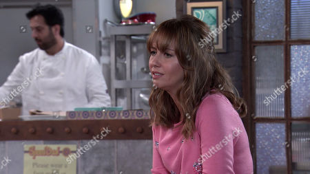 Coronation Street - Ep 10131 & 10132 Friday 2nd October 2020  Gary Windass is horrified to find Maria Windass, as played by Samia Longchambon, and Sarah Barlow together at Speed Daal.