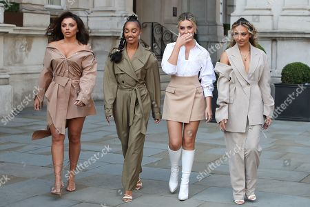 Editorial photo of Little Mix out and about, London, UK - 15 Sep 2020