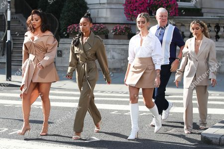 Editorial picture of Little Mix out and about, London, UK - 15 Sep 2020