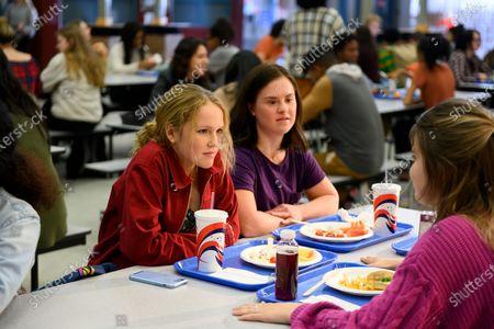 Talitha Bateman as Alexis Logan, Felicia Patti as Cassie Ramirez and Rhys Fleming as Annie