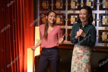 Nadia Hatta as Mei Chen and Vivian Wu as Dr. Lu Wang