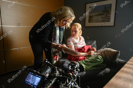 Bronwen Hughes Director and Talitha Bateman as Alexis Logan