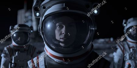 Mark Ivanir as Misha Popov, Hilary Swank as Emma Green and Ray Panthaki as Ram Arya