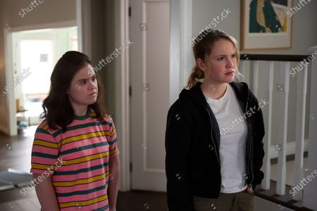 Stock Photo of Felicia Patti as Cassie Ramirez and Talitha Bateman as Alexis Logan