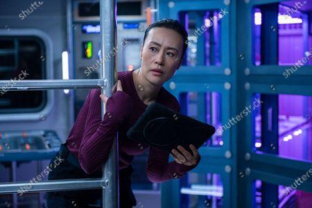 Stock Image of Vivian Wu as Dr. Lu Wang
