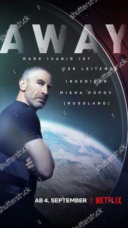 Stock Picture of Away (2020) Poster Art. Mark Ivanir as Misha Popov