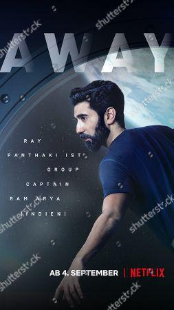 Away (2020) Poster Art. Ray Panthaki as Ram Arya