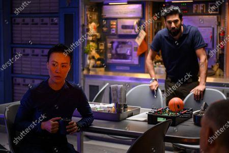 Vivian Wu as Dr. Lu Wang and Ray Panthaki as Ram Arya