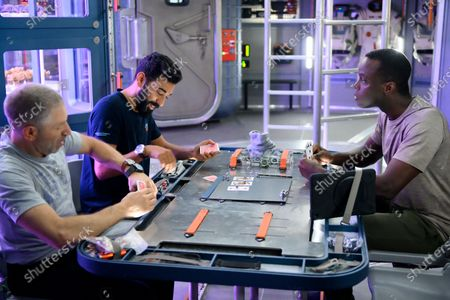 Mark Ivanir as Misha Popov, Ray Panthaki as Ram Arya and Ato Essandoh as Dr. Kwesi Weisberg-Abban
