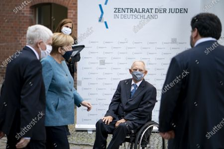 Chancellor Angela Merkel (CDU) and Wolfgang Schauble in Deutschland