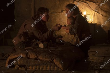Stock Picture of George MacKay, Claire Duburcq